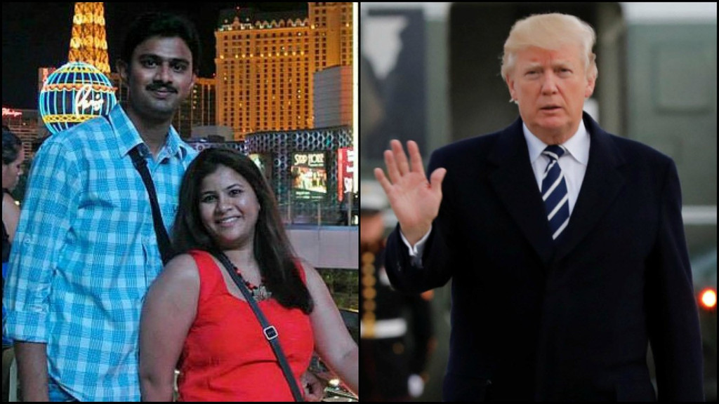 Kuchibhotla's widow invited to attend Trump's State of the Union address