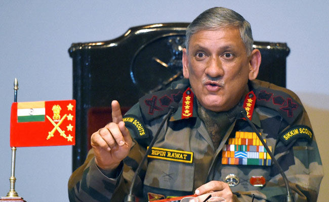 Arunachal incident resolved: Army Chief Bipin Rawat