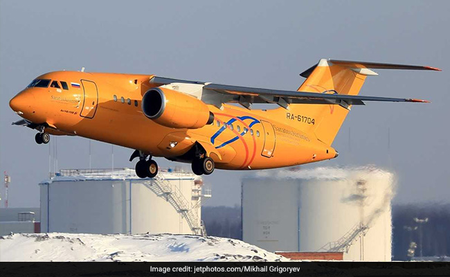 Saratov Airlines plane crashes near Moscow, 71 people feared dead