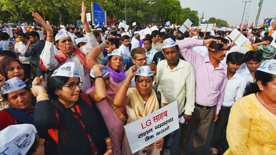 No permission to AAP's protest march to PM's residence: Delhi Police