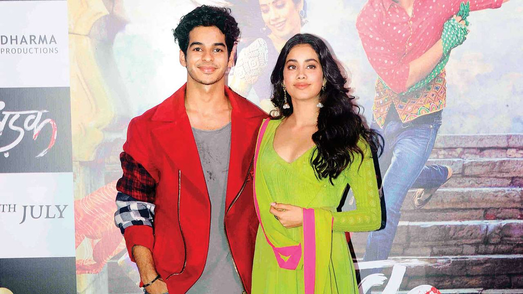 'I saw Sairat with mom and she wanted me to do a film like that': Janhvi Kapoor at 'Dhadak' trailer launch
