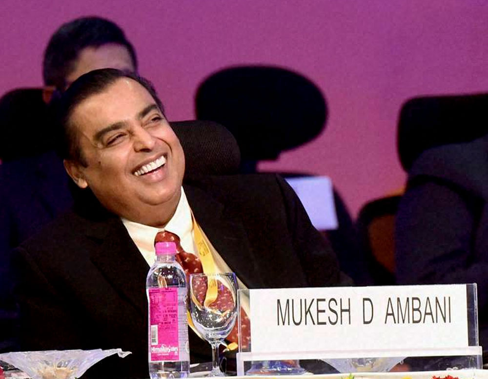 Reliance Industries to invest Rs 5,000 cr in West Bengal in petroleum, retail: Mukesh Ambani