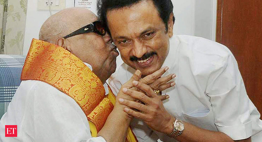 Can I call you Appa for one last time: MK Stalin to Karunanidhi
