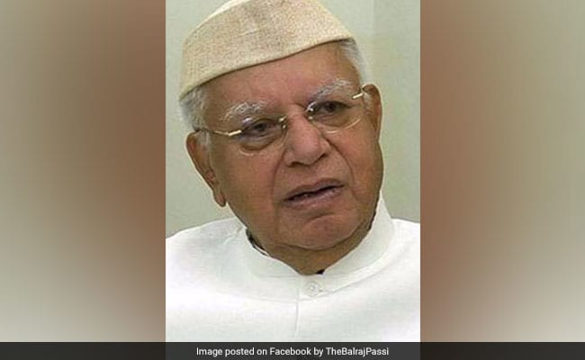 Former Uttarakhand Chief Minister ND Tiwari dies on his 93rd birthday