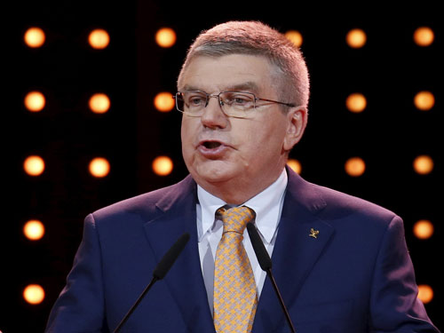 Zero tolerance against doping: IOC president