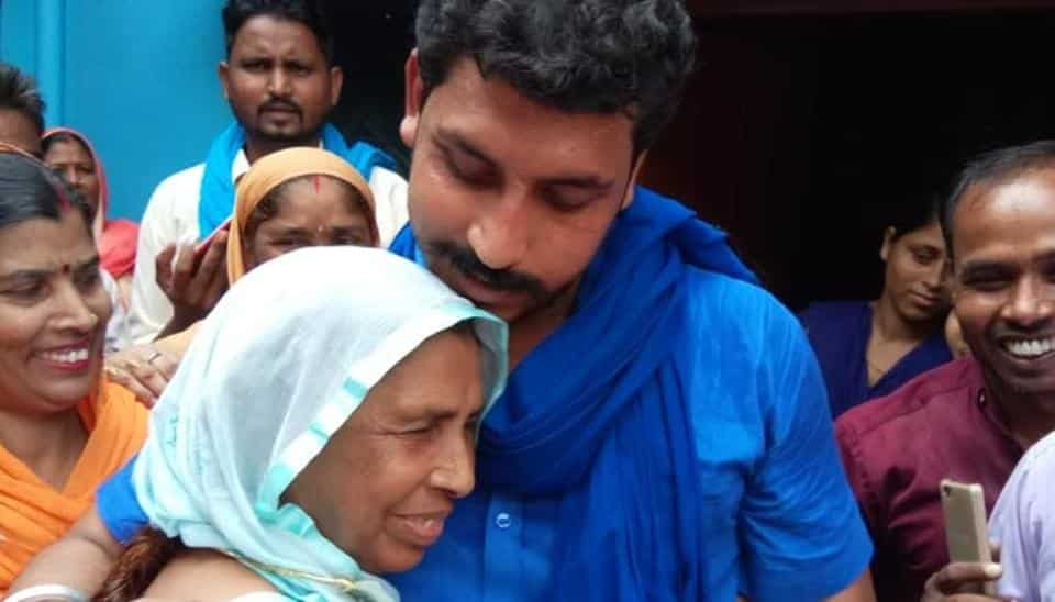 Bhim Army founder Chandrashekhar released after 15 months in Saharanpur jail