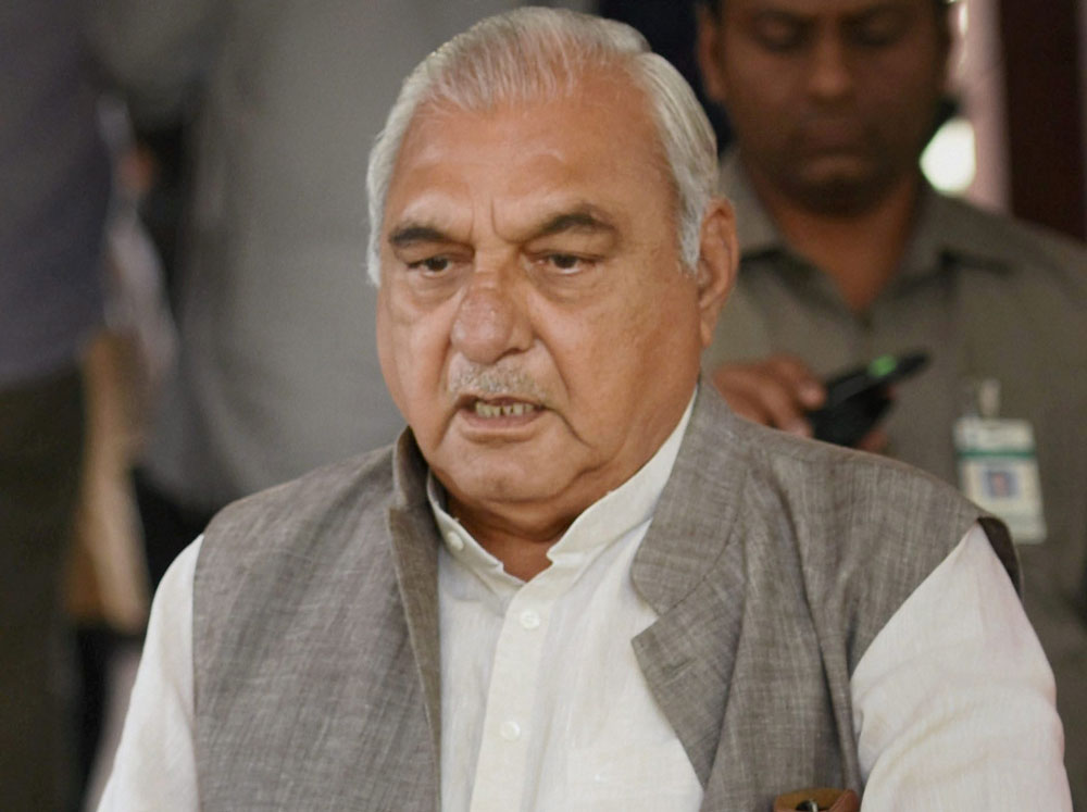 CBI files charge sheet against Hooda in Manesar land case