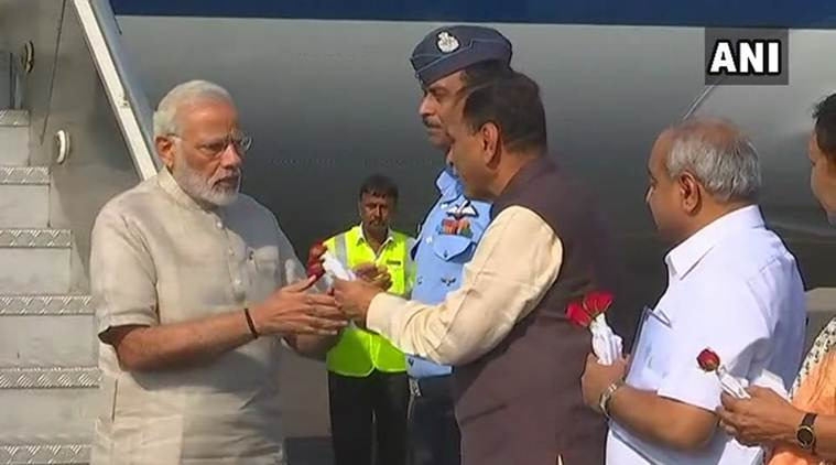PM Modi on a two-day visit to Gujarat from Saturday