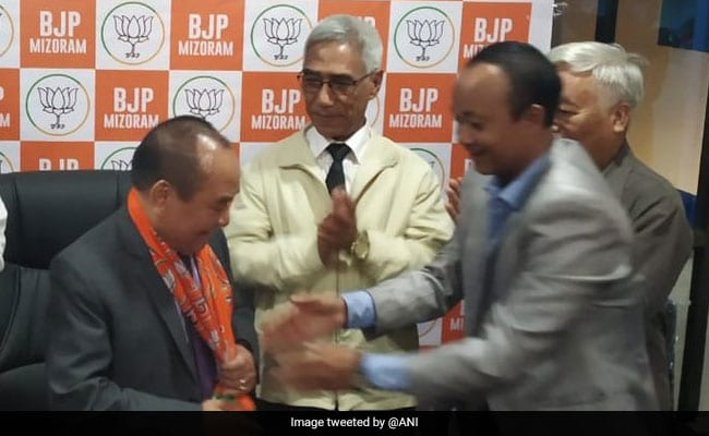 BJP leader claims Mizoram speaker Hiphei will quit Congress and join saffron party