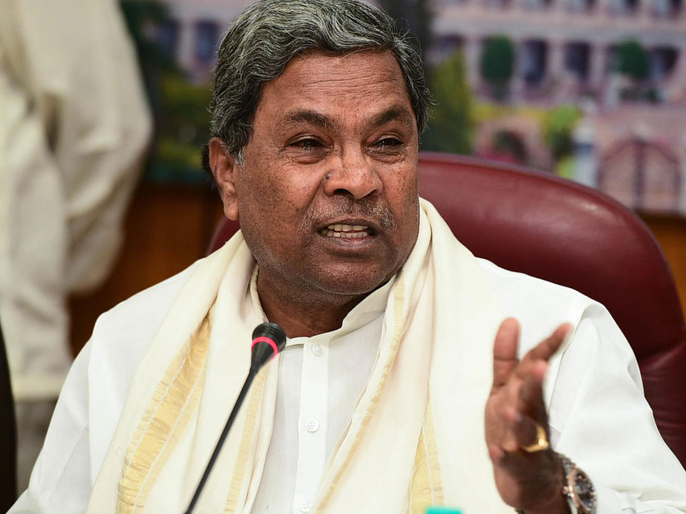 Not in a position to release Cauvery water to Tamil Nadu, says CM Siddaramaiah