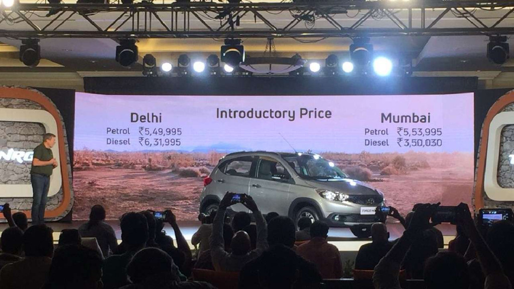 Tata Motors drives in Tiago NRG at Rs 5.49 lakh