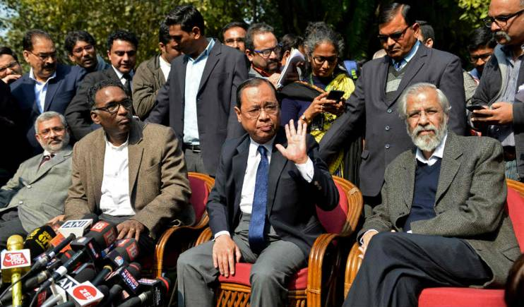 Justice Dipak Misra: The only CJI who faced rebellion by four senior most judges