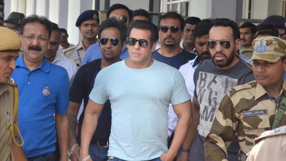 Salman Khan arrives in Jodhpur for hearing in blackbuck poaching case