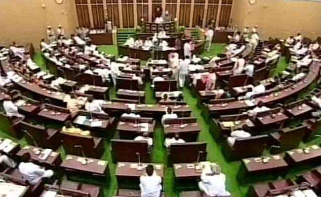 Two Congress MLAs expelled from Telangana Assembly