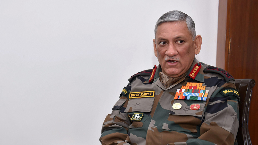 Army Chief General Bipin Rawat says India-China military exercise to resume, 'bonhomie' between nations is back
