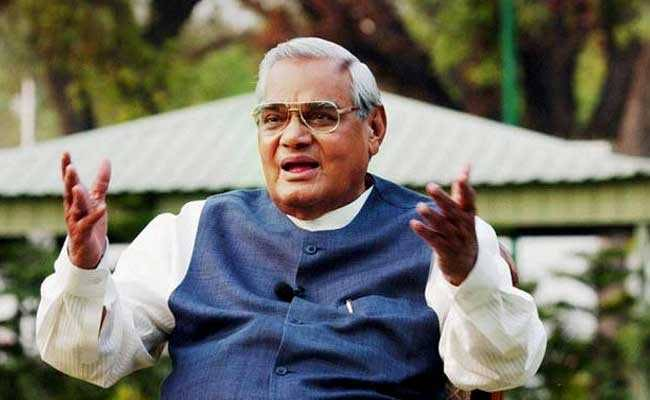 Former prime minister Atal Bihari Vajpayee admitted to AIIMS
