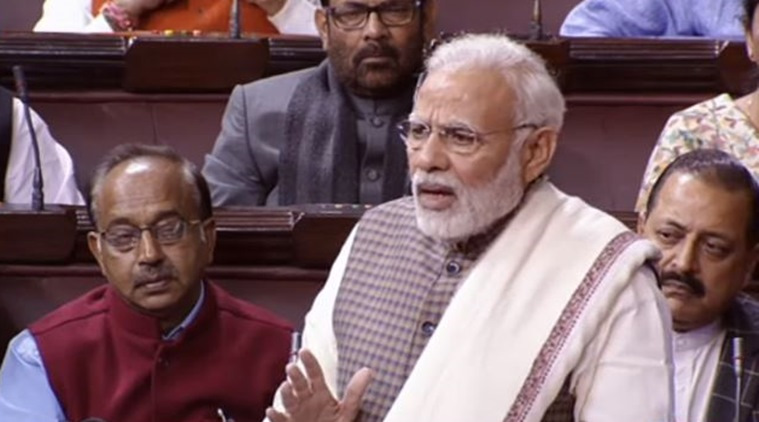 'NPAs are Congress' sins,' says PM Narendra Modi in Lok Sabha