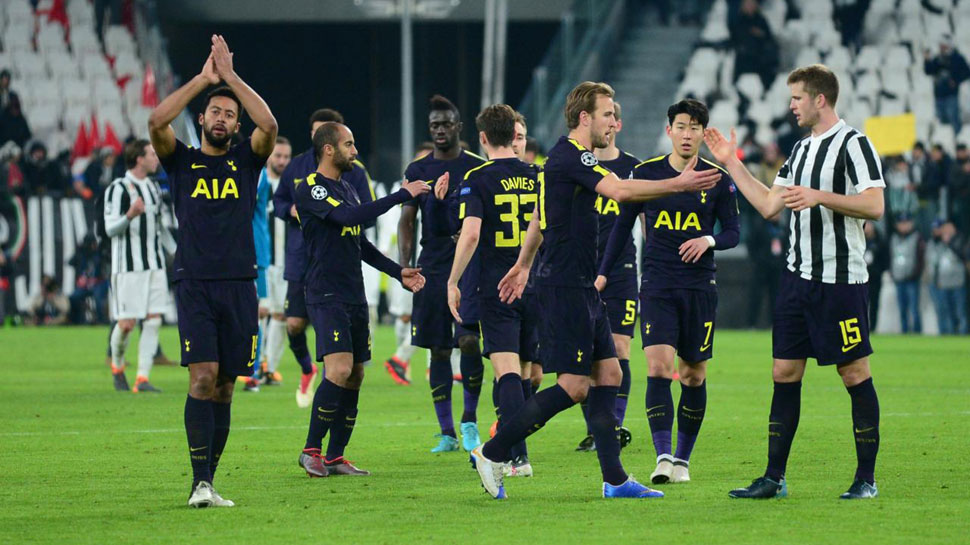 Champions League: Tottenham Hotspur come from behind to hold Juventus; Manchester City thrash FC Basel