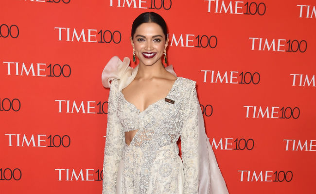 [PICS] Deepika Padukone turns Desi girl for TIME 100 gala and we just can't get enough