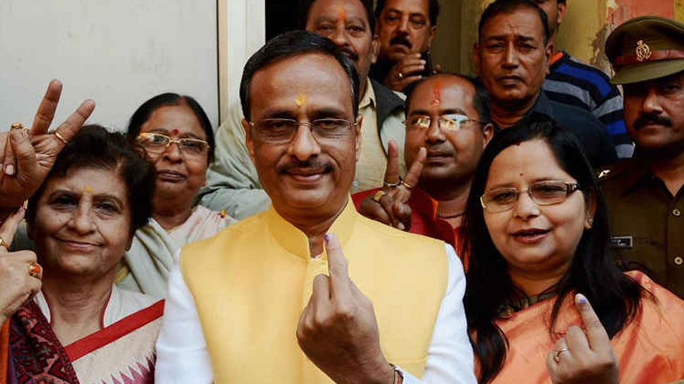 UP deputy CM Dinesh Sharma booked for Sita comment