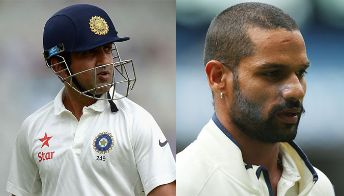 Shikhar Dhawan replaces Murali Vijay for Sri Lanka Test series