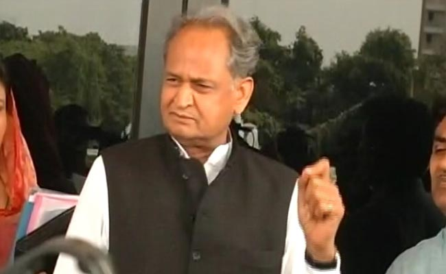 Ashok Gehlot made Congress general secretary in-charge for Gujarat