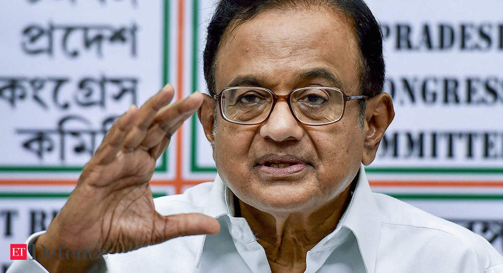 Government Ignored Procurement Procedure In Rafale Deal: P Chidambaram