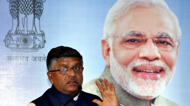 Aadhaar can't be killed under garb of privacy: Ravi Shankar Prasad