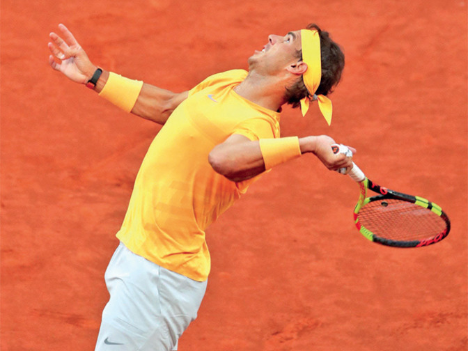 Rafael Nadal breaks McEnroe record with 50th consecutive set win