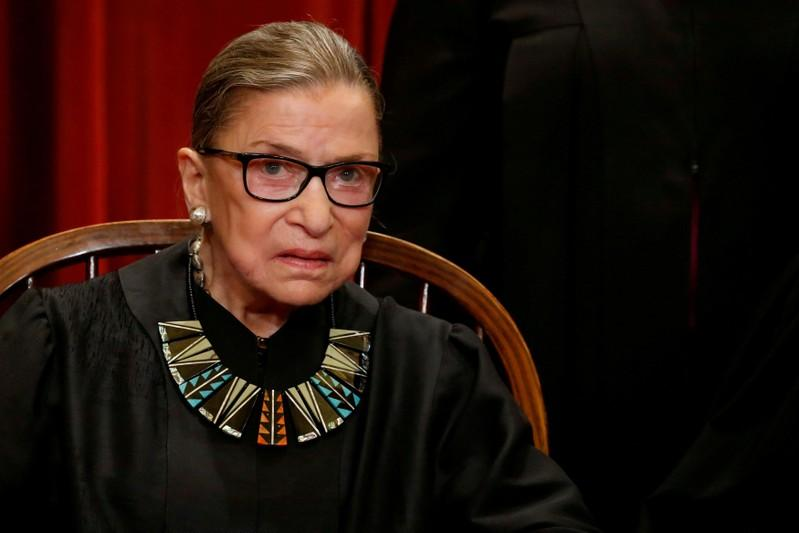 Ginsburg, 85, hospitalized after fracturing 3 ribs in fall