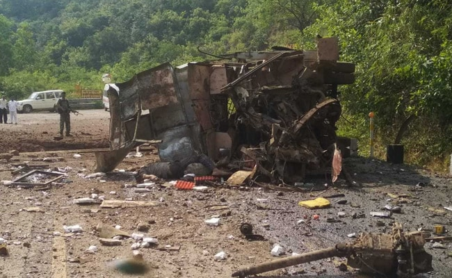 4 Killed As Maoists Blow Up Bus In Chhattisgarh's Dantewada