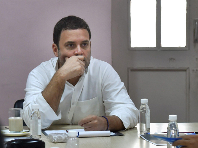 Rahul Gandhi to meet Gujarat Dalit leader Mevani: Congress leader