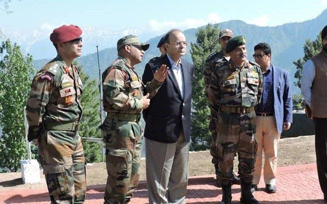 Satisfied over readiness of troops along LoC: Jaitley