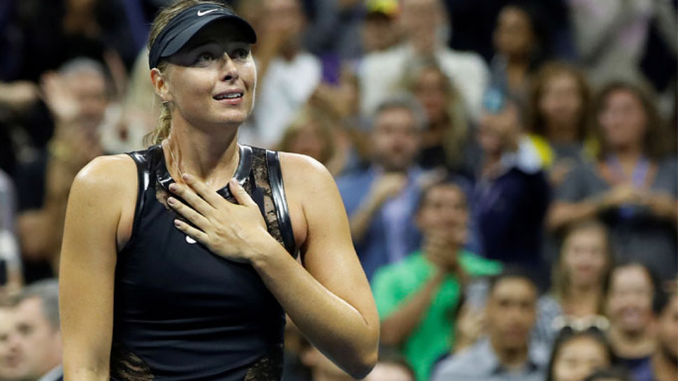 Sharapova crashes out in Qatar Open first round