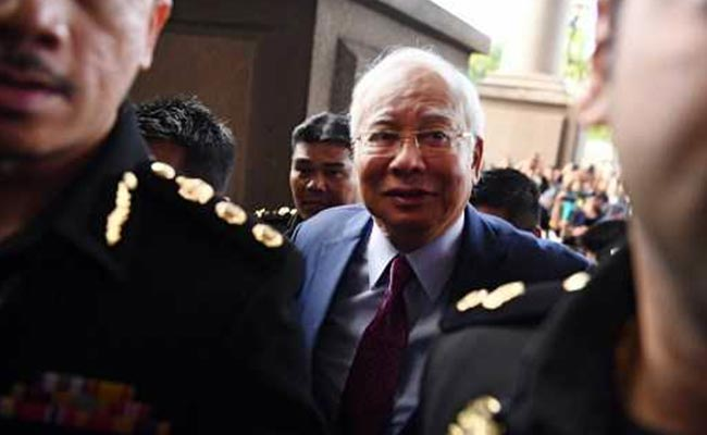 Former Malaysian PM Najib Razak Arrested For Corruption